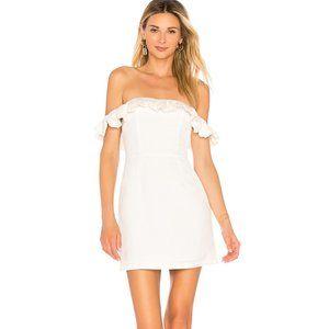 Superdown emery off the shoulder mini dress